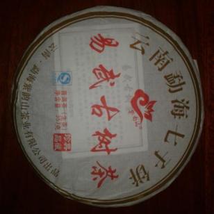 紫韵山易武古树纯料茶图片