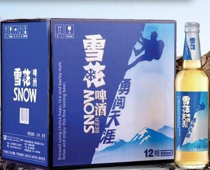 雪花啤酒批发图片