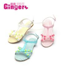 Ginger2014原单新款糖果拼色波点蝴蝶结时尚童鞋公主单鞋代发批发