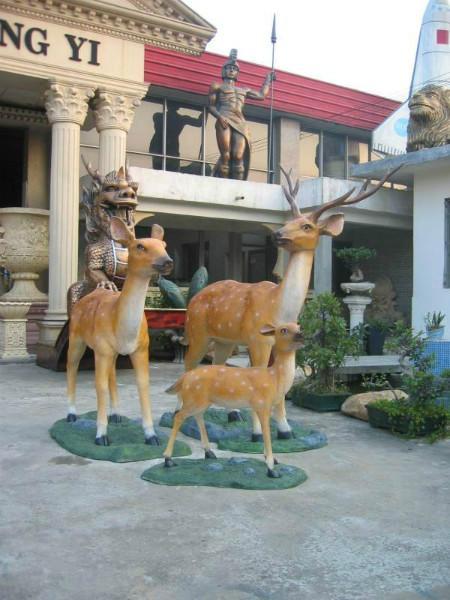 厂家直销动物模型小鹿模型