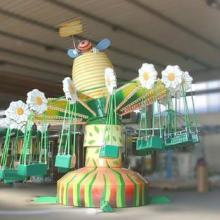 供应花朵蜜蜂造型飞椅/飞椅游乐设备,唯美造型飞椅,清新靓丽,吸引眼球
