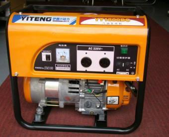供应1KW家用小型汽油发电机价格图片