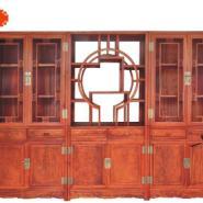 三组合书柜图片