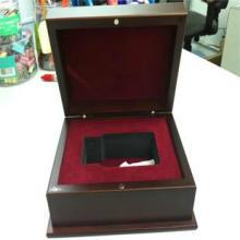供应高档烤漆木盒徽章盒金币纪念币盒定做