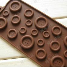 供应巧克力创意硅胶冰格大制冰格冰盒冻冰块模具食品级可爱韩版批发