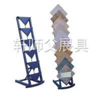 供应瓷片摆放架子陶瓷展会展具瓷砖产品展示架木地板样版陈列架