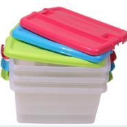 康溢整理箱塑料收纳箱大小号储物箱图片
