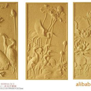 花卉GRC浮雕图片