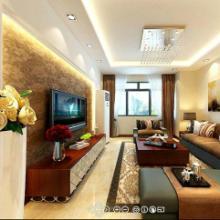 供应扬州金港花园三室两厅简约风格装修效果图-扬州一号家居网-面对面装批发