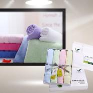 竹纤维毛巾批发浴巾毛巾设计制作图片