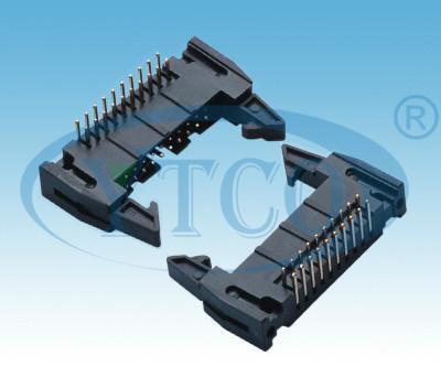 2.54mm牛角插座,牛角DC2