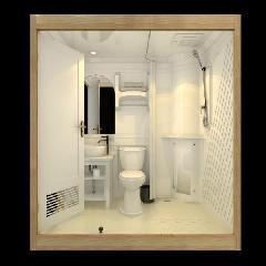 河南鹤壁整体卫浴整体浴室图片