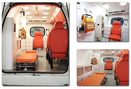 供应北京海淀区长途救护车车出租图片