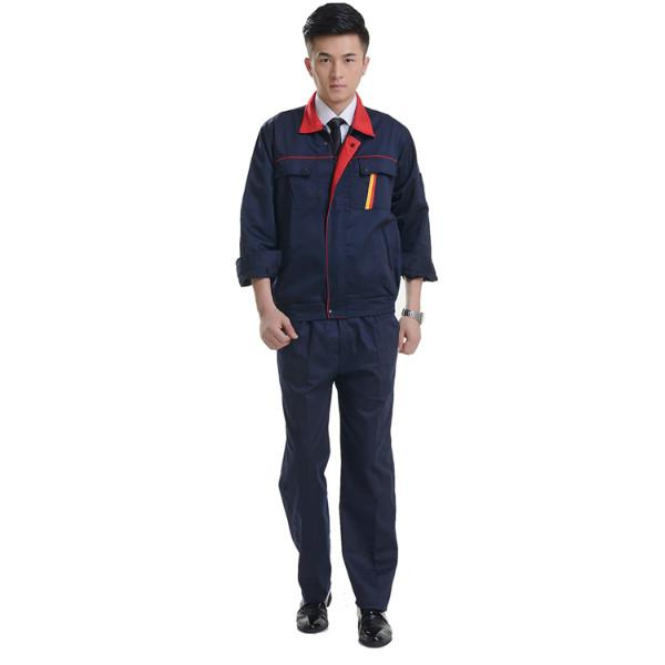 供应工作服,全棉工作服加工定做,量多价格优惠,可印绣logo