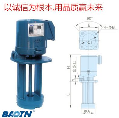 供应机床水泵浸水式-机床水泵立式