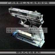 手枪水晶模型礼品图片
