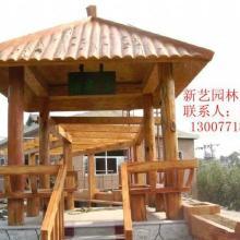 供应玉树藏族仿木亭护栏、供应格尔木、拉萨仿木亭护栏