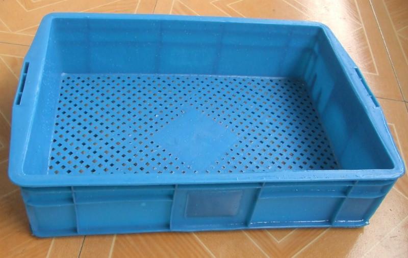 供应塑料2格箱,台州塑料周转箱,