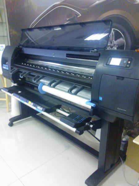 惠普d5800大幅面打印机写真机图片