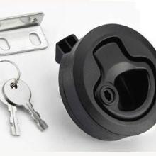 M1-42带锁芯圆环拉手锁 圆柱锁 汽车用M1圆型拉环锁同索斯科图片