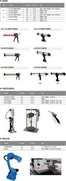 供应施胶设备与工具X手动施胶枪、气动施胶枪批发。供应进口、国产施胶枪