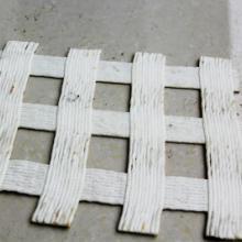 供应双经双纬经编涤纶土工格栅