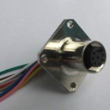 供应针型孔型M12带线插座批发