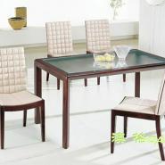 优质现代餐桌定做/方形餐桌椅组合图片