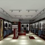 服装展柜道具 服装展柜道具设计制作厂家济南展柜展台设计制作搭建流水台销售厂家