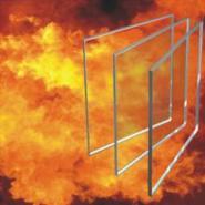 6mm单片非隔热型防火玻璃图片