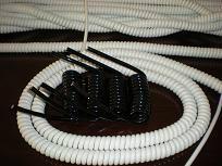 供应18芯PU弹簧线PUR螺旋电缆仪器批发