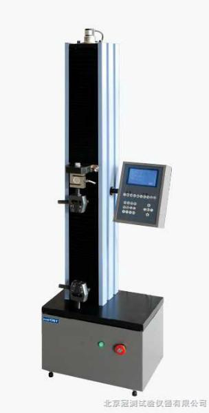 电子拉力试验机1KN液晶显示,万能优质试验机拉力机液晶控制,北京冠测直销液晶显示电子拉力试验机。