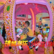 供应儿童转马哪家价格优惠豪华旋转木马厂家郑州神童游乐13460231398