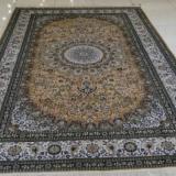 供应波斯素雅高贵手工打结编织真丝地毯