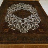 皇室御用真丝手工打结编织地毯图片