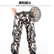 供应多袋休闲裤 批发休闲中裤,定做迷彩裤