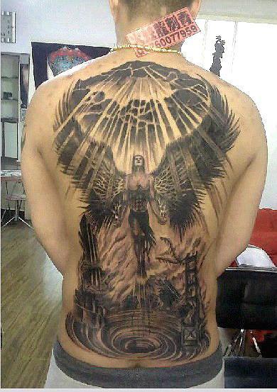 火蛟龙纹身
