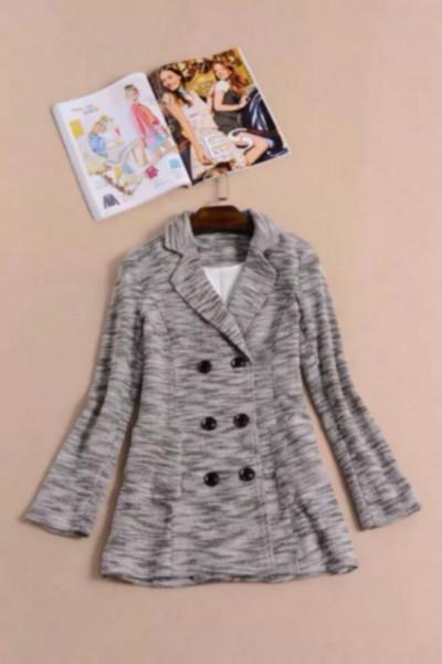 2014最新时尚款毛尼大衣搭配批发图片|2014最新时尚