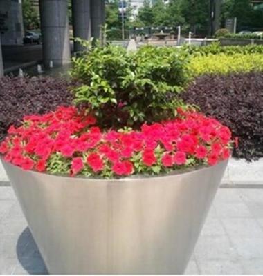 不锈钢花盆图片/不锈钢花盆样板图 (1)