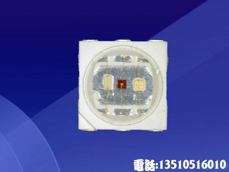 供应5050贴片RGB5050贴片灯珠高品质低衰减寿命长SMD贴片发光二极管