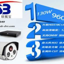 供应130W高清网络摄像机阵列灯夜视50米 960P阵列网络摄像头批发