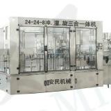 供应24-24-8三合一瓶装水灌装机