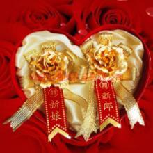 供应24K金玫瑰花胸花,婚庆,马鞍山,当涂,和县,含山