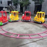 信阳光山一节4-6节公园轨道小火车图片