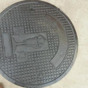 兰州金龟牌电力电缆球墨铸铁井盖图片