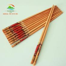 供应阿里山艺术竹筷子四大美女系列