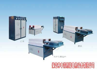 河北中频熔炼炉供应商中频铝铁熔炼炉中清新能专业生产厂家
