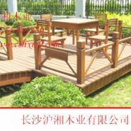 怀化防腐木公园椅厂家图片