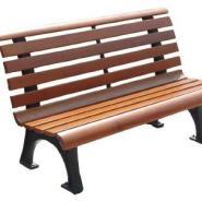 防腐木公园椅价格图片