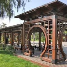 供应碳化木凉亭,长沙碳化木凉亭,长沙碳化木凉亭厂家批发